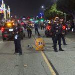 Arrest at Lakers celebration