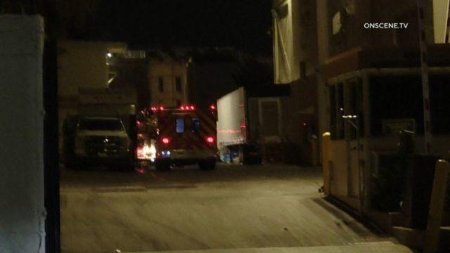Ambulance at Paramount Studios