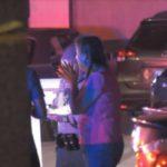Witnesses speak with deputies