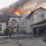 Home burns in Yorba Linda