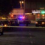 Crime scene in Encino