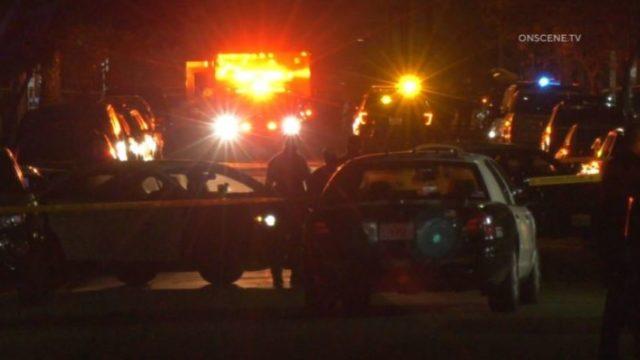 Crimes scene in Boyle Heights