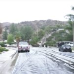 Snow in Castaic