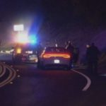 CHP officers investigate accident
