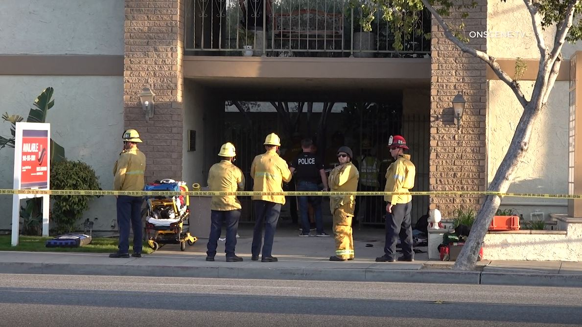 'Child among four dead' in shooting at office building in Orange, California