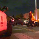 Paramedics assist victim