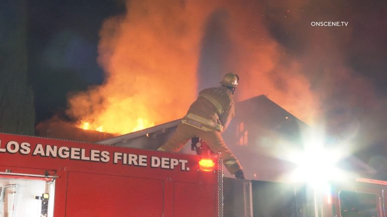 Fire in Arlington Heights