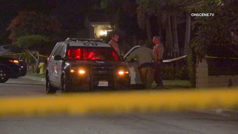 Deputies at scene of stabbings