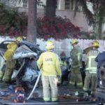 First responders at crash scene